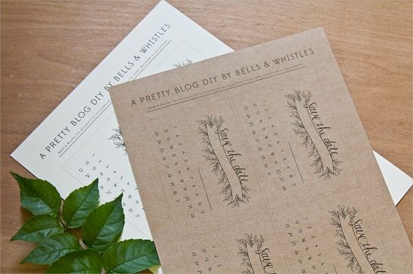 Download Free Wedding Printables