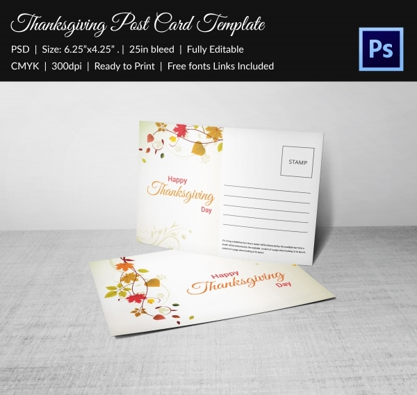 downloadable postcard design