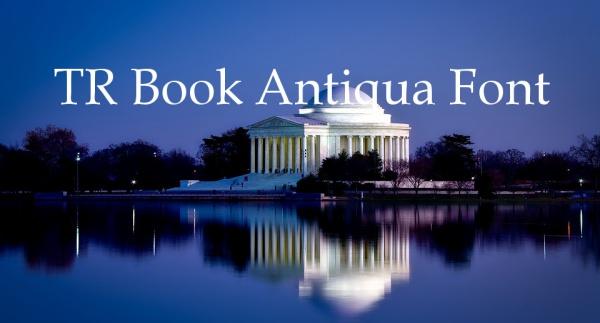 Download TR Book Antiqua Font
