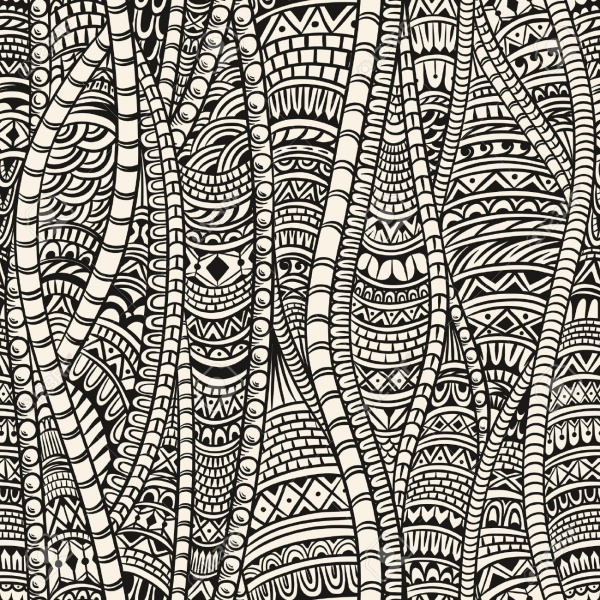 Download Zentangle Pattern for Free