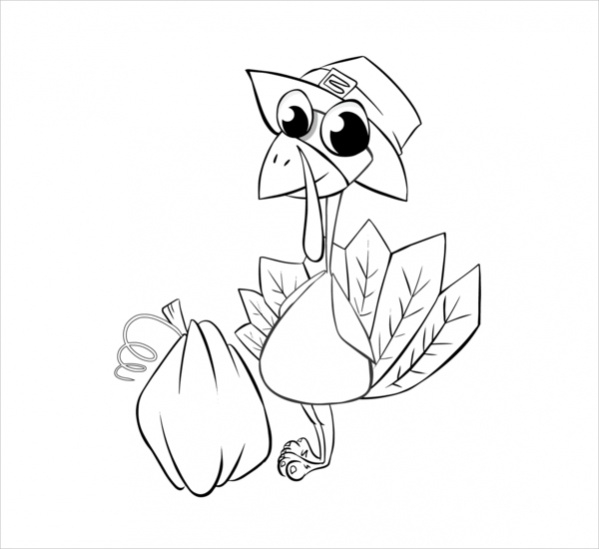 Download thanksgiving coloring pages