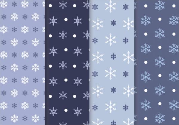 Downloadable Snowflake Pattern