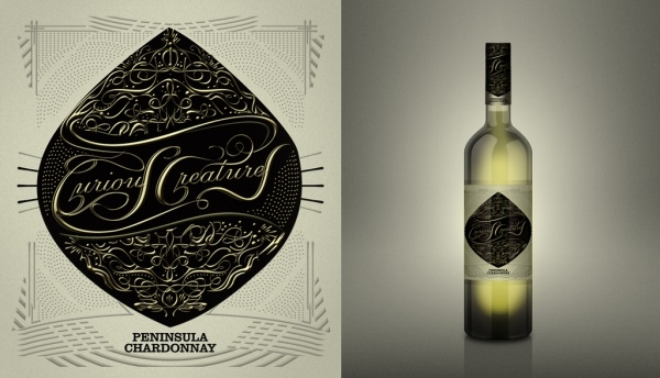 Downloadable Wine Label Design