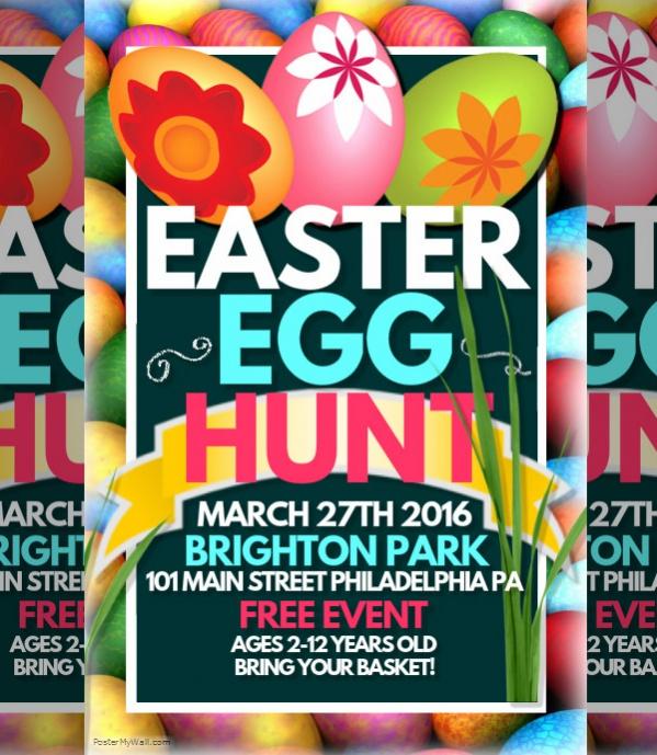 Easter Poster Design