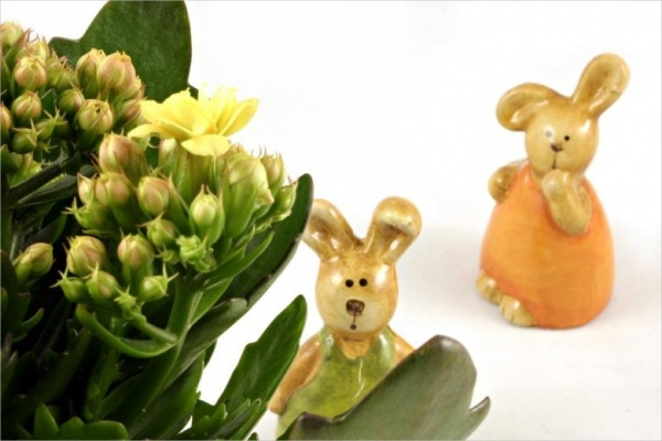 Easter Rabbits Decorative Elements