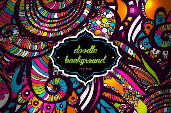 easy zentangle doodle pattern