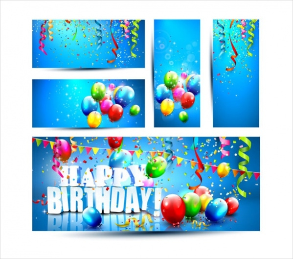 Editable Birthday Banner