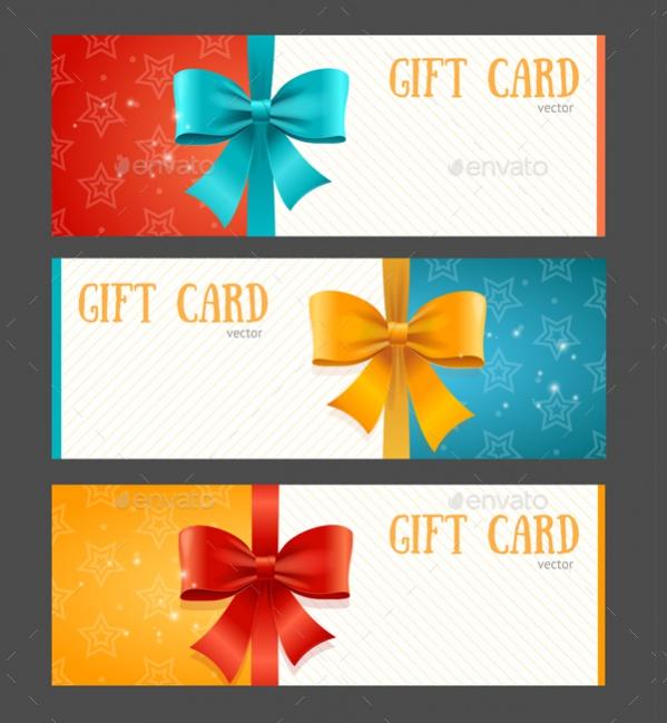Editable Gift Card Design