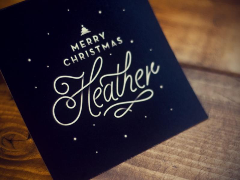 Editable Printable Christmas Card