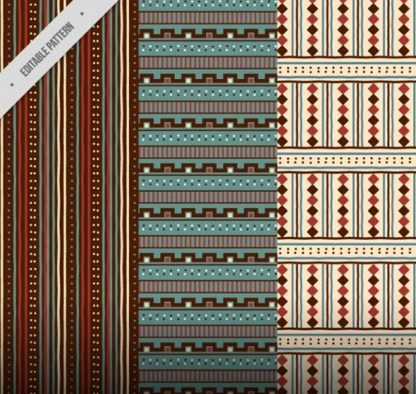 Editable Tribal Pattern