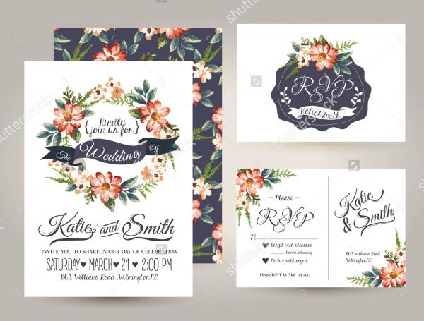 Editable Wedding Card