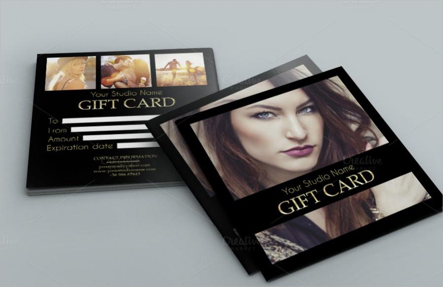 Elegant Gift Card Design