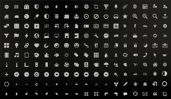 Elegant Minimalistic Android icons