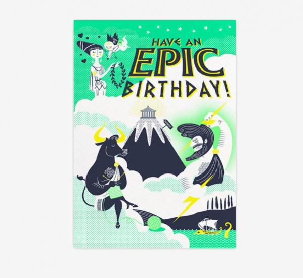 Epic Happy Birthday Card