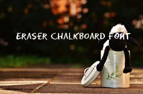 Eraser Chalkboard Font