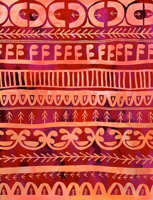 Ethnic Tribal Pattern