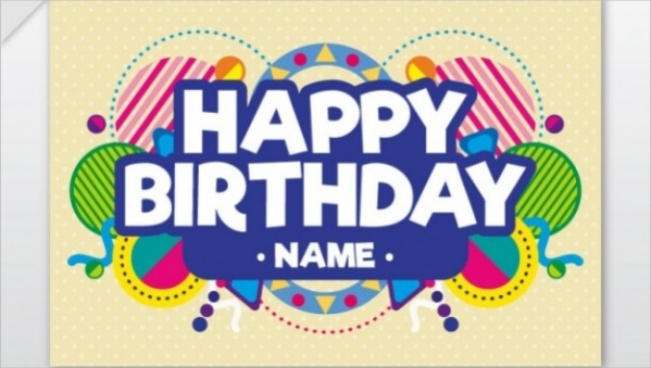 Free 18 Printable Birthday Cards In Psd Vector Eps