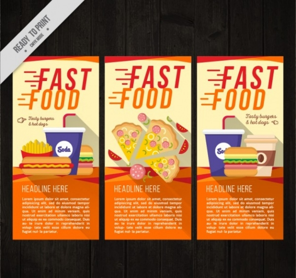 Fast Food Flyer For Free