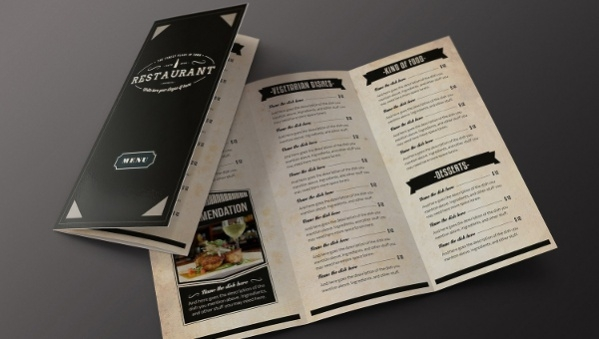 34 Menu Designs Templates