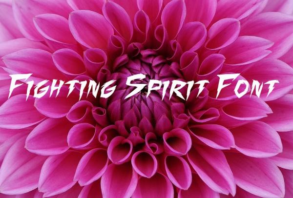 Fighting Spirit Font Family