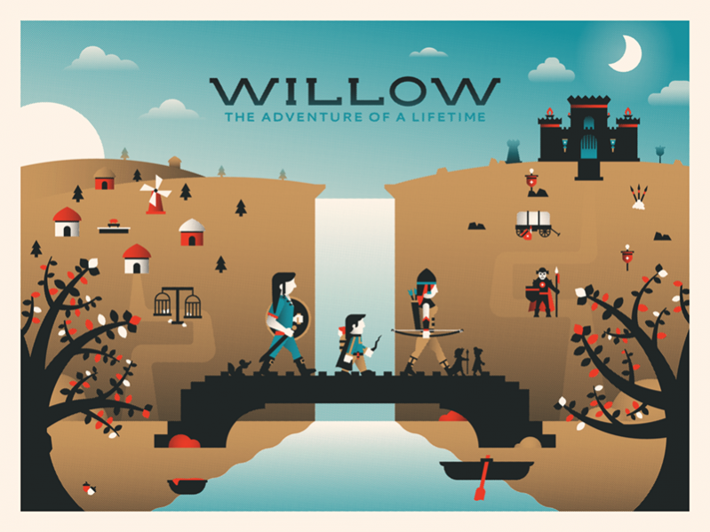 Flat Willow Movie Poster
