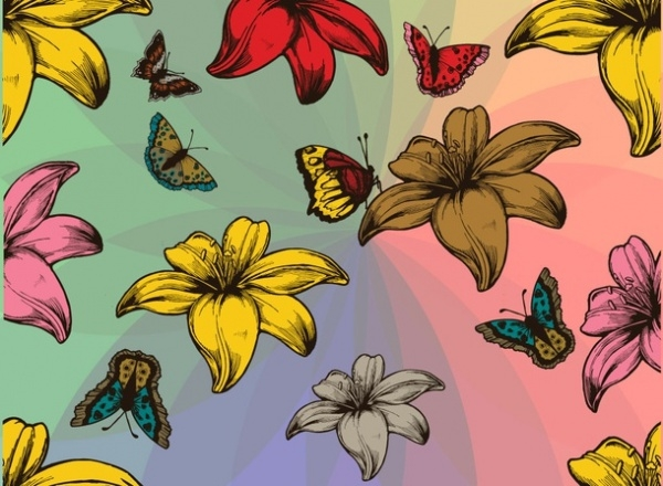 Flower Pattern For Download