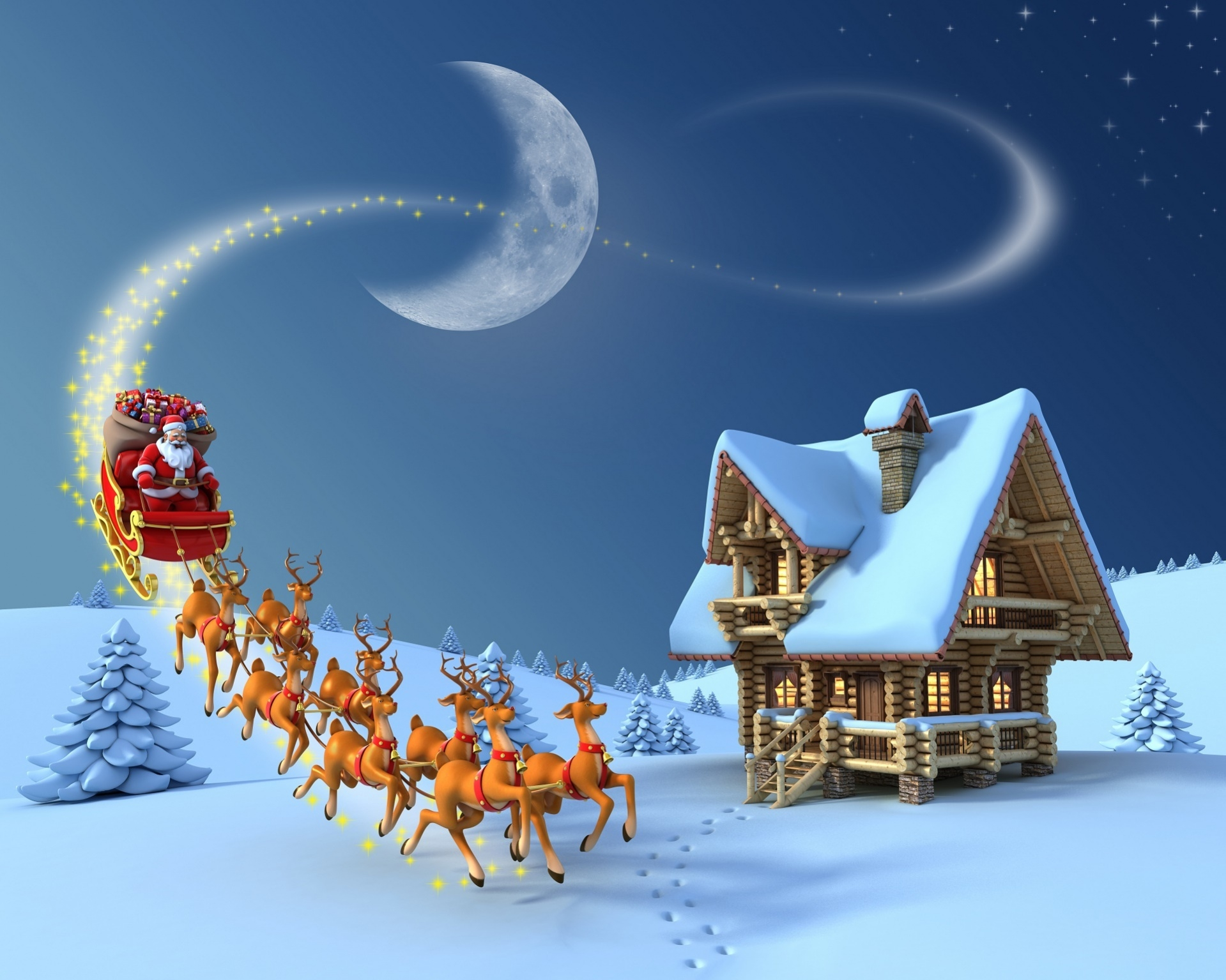 free 3d holiday wallpaper
