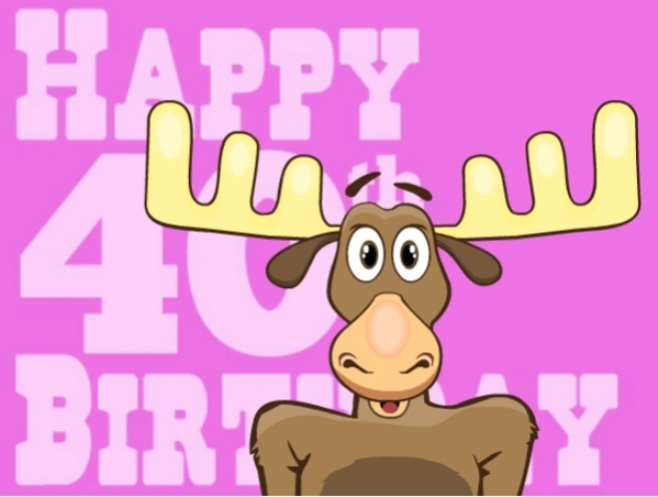 Free 40th Birthday Ecard