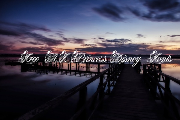 Free AL Princess Disney Fonts