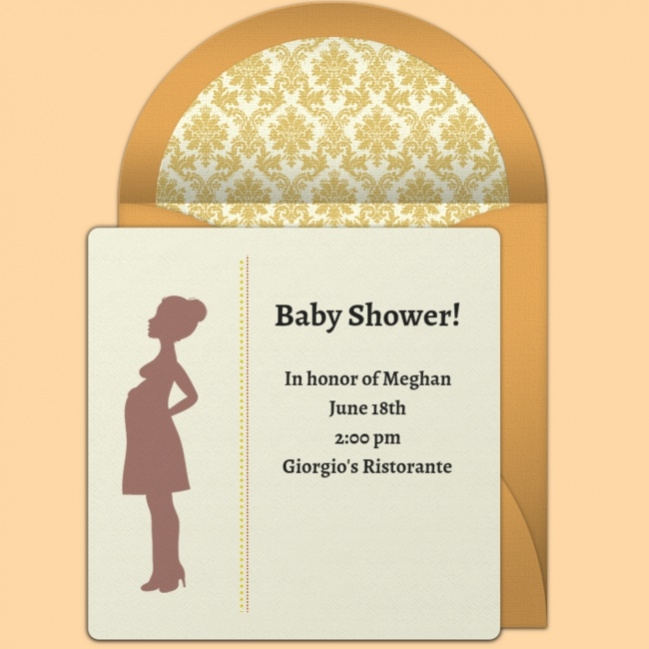 Free Animated Baby Shower Invitation
