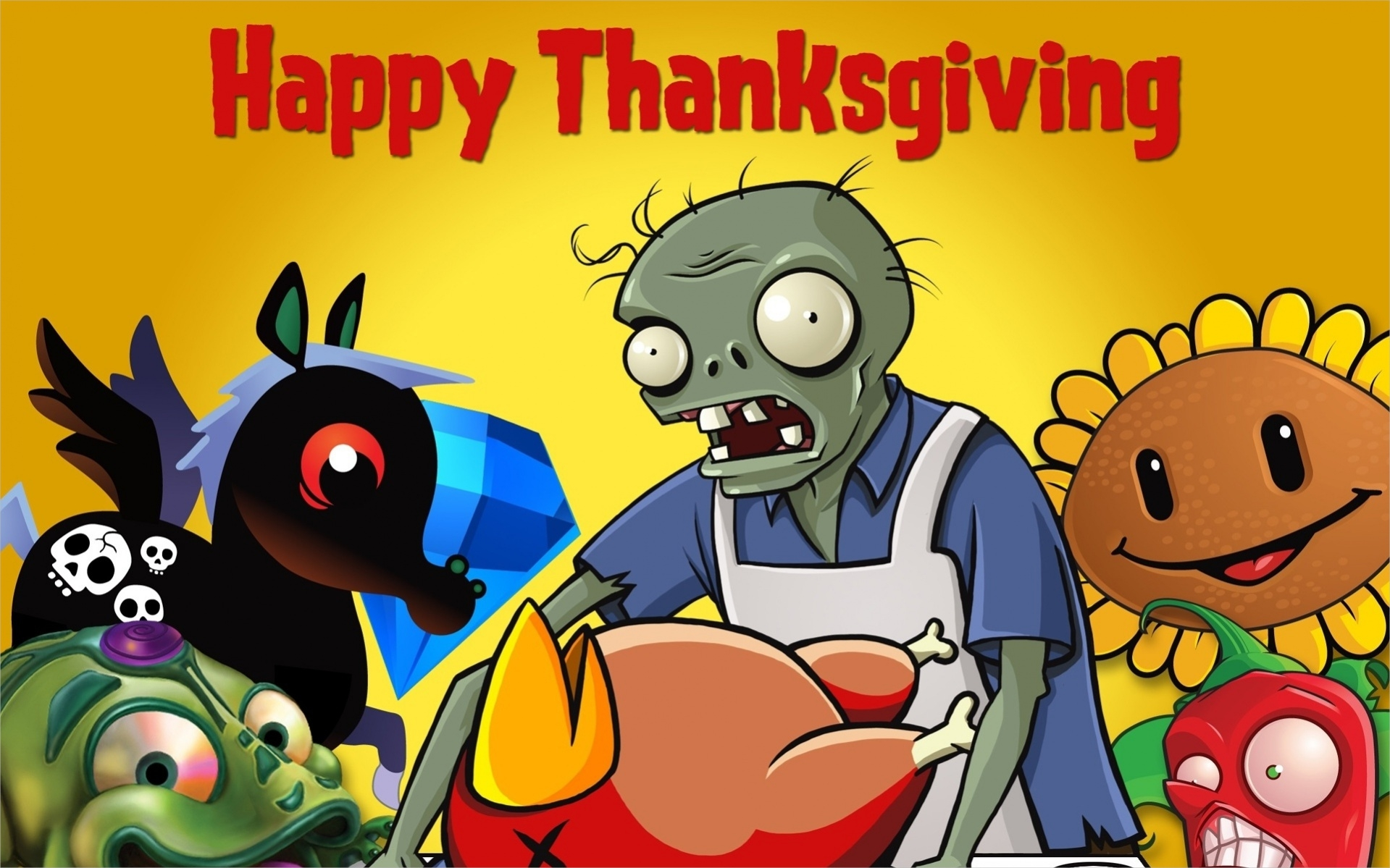 Free Animated Thanksgiving Wallpaper