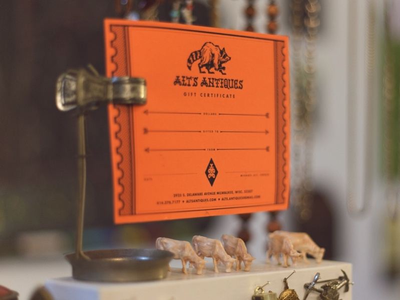 Free Antique Gift Certificate Template