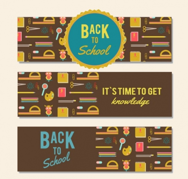 Free Back to School Banner