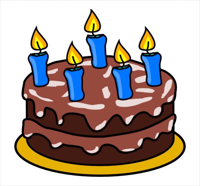 Free Birthday Cake Clipart Design