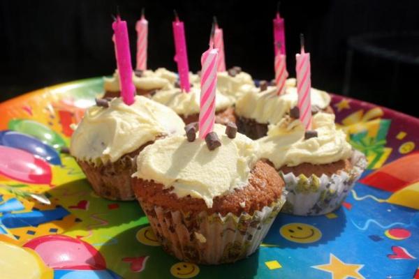 Free Birthday Cupcake Image