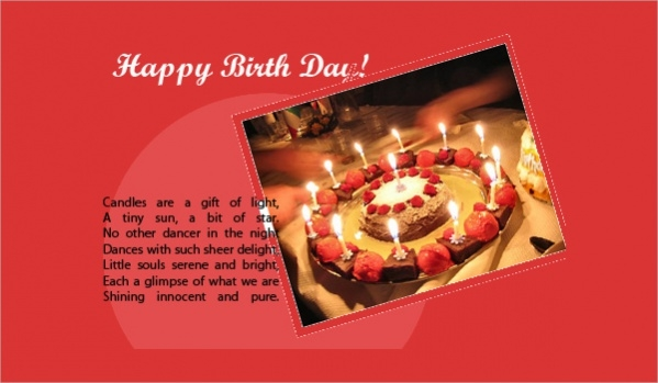 Free Birthday Greeting Image