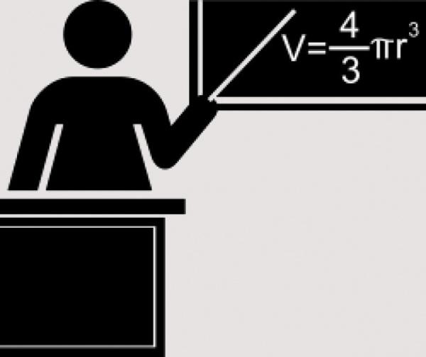free black and white clipart for teacher