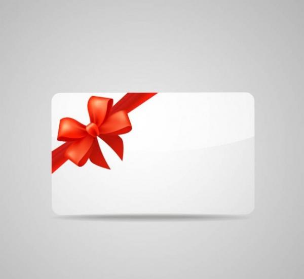Free Blank Gift Card