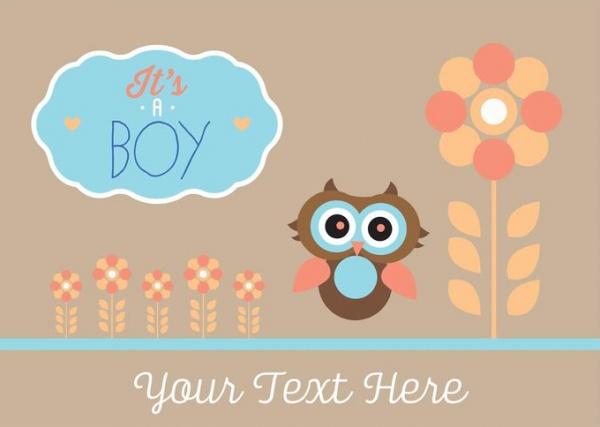 Free Boy Baby Shower Printable