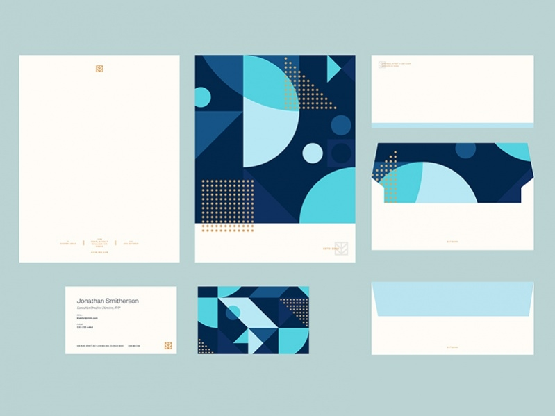 Free Brand Stationery Template