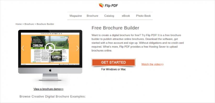 Free Brochure Builder
