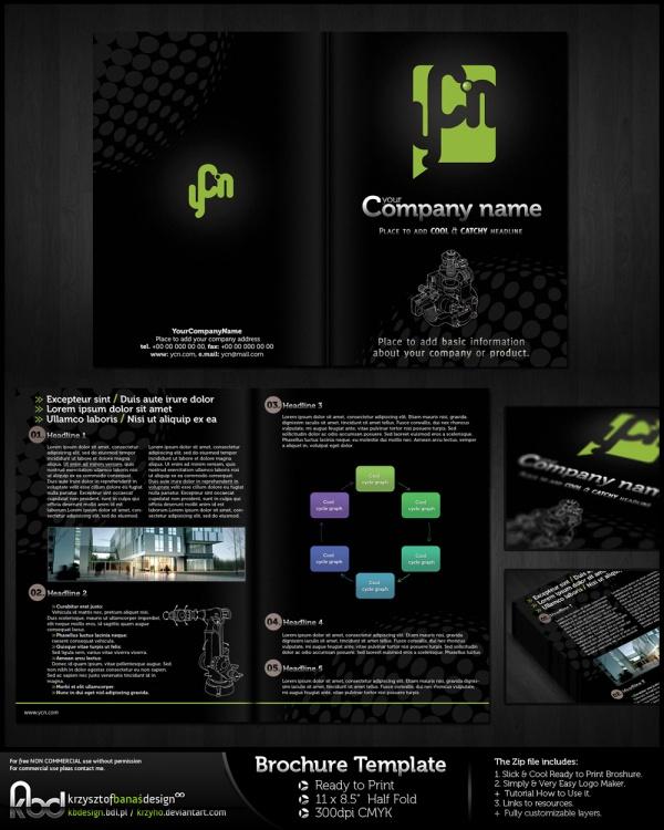 Free Brochure Leaflet Design