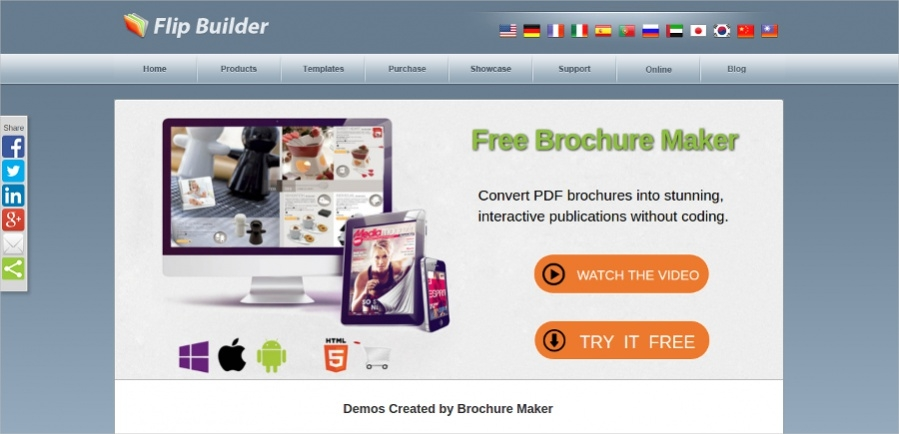 free brochure maker for students