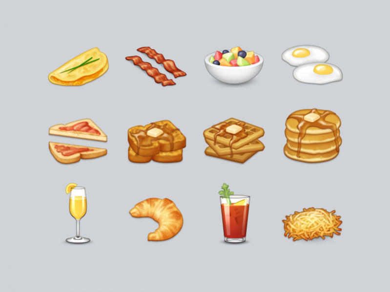 Free Brunch Emojis