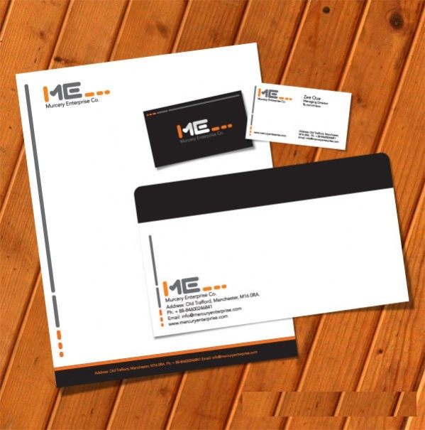 Free Business Stationery Template