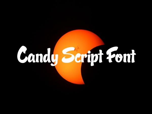 Free Candy Script Font