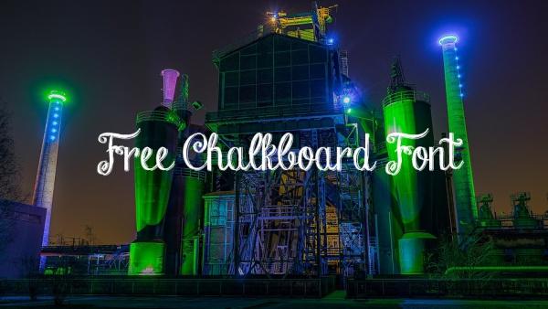 free-chalkboard-font