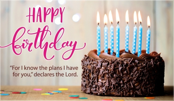 Free Christian Birthday Ecard