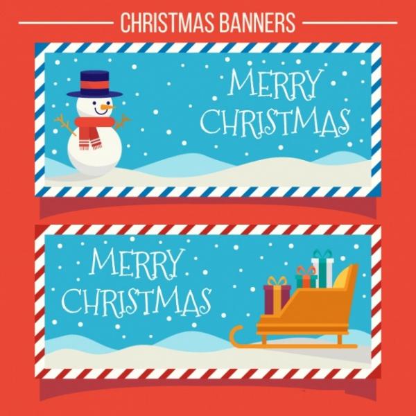 Free Christmas Banner Printables