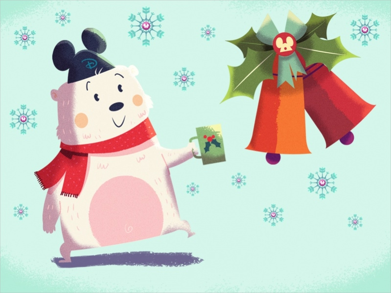Free Christmas Bear Printables